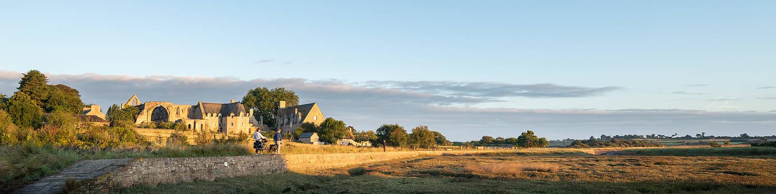 L'abbaye et le domaine de Beauport à Paimpol